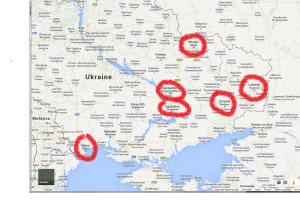 East map hotspots