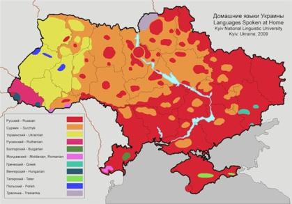 Ethno Ukraine-map
