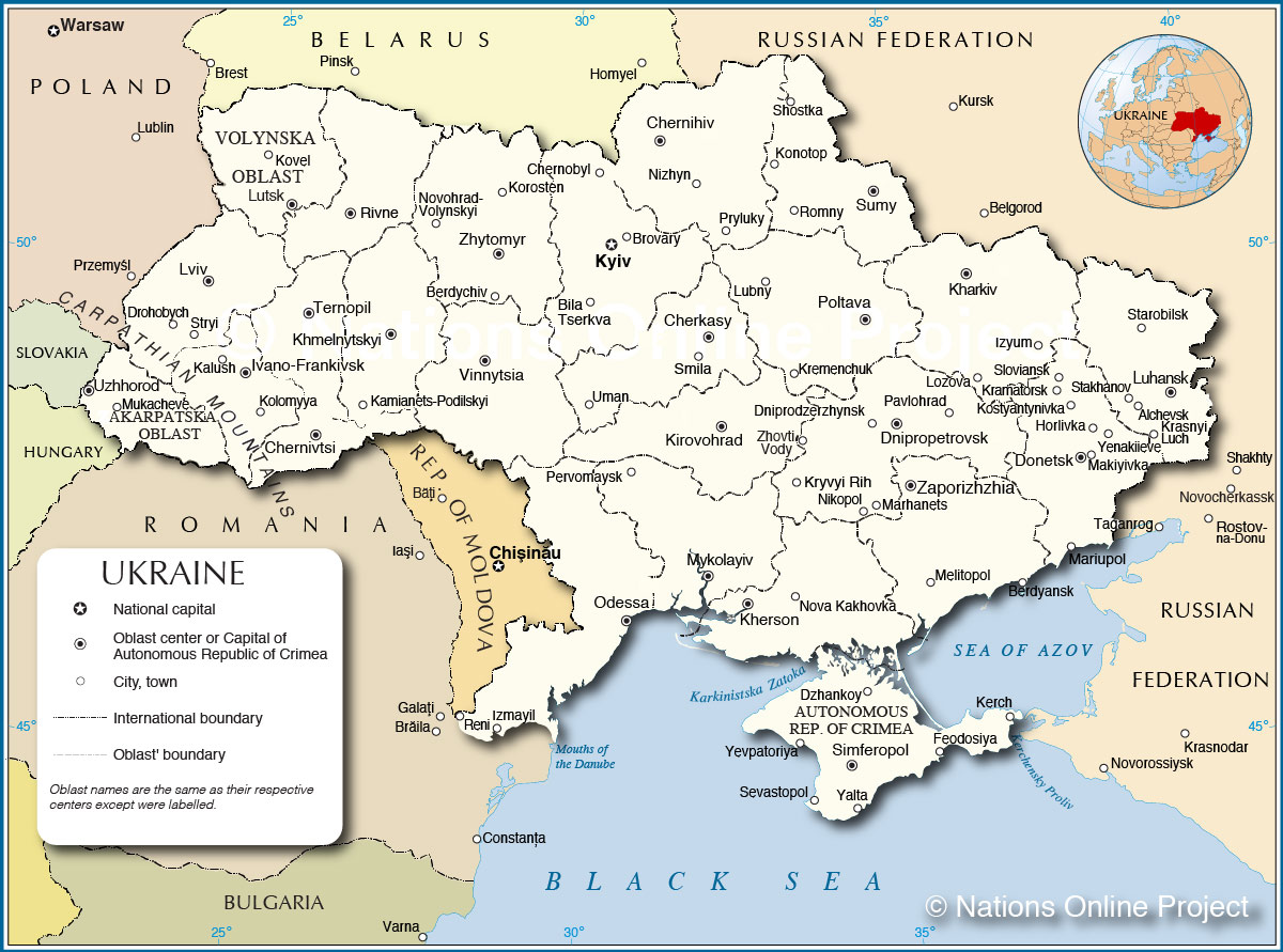 Ukraine Maps Eurasian Geopolitics - Crimea map geopolitics south russia