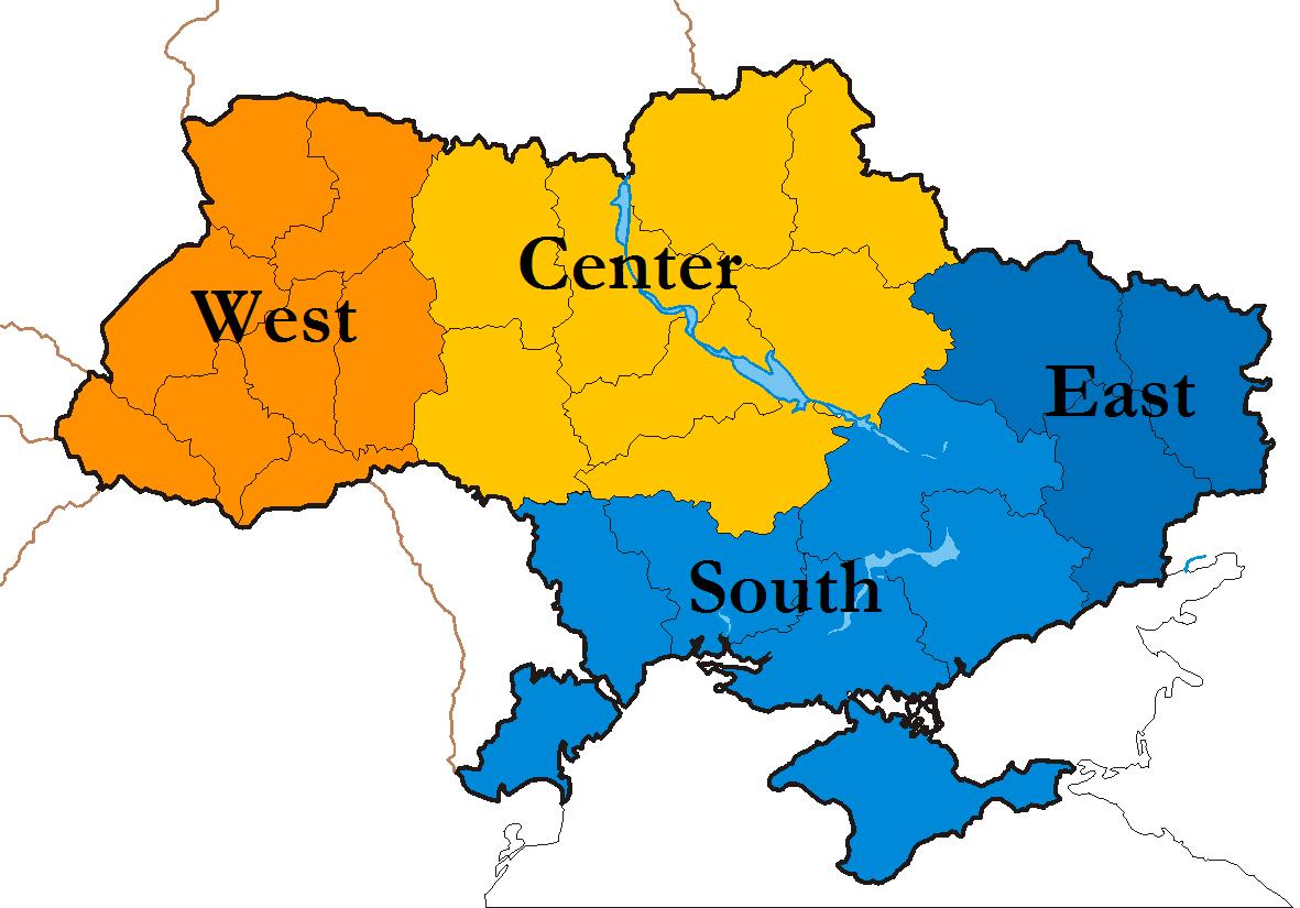 Ukraine And Russia Map.Ukraine Maps Eurasian Geopolitics