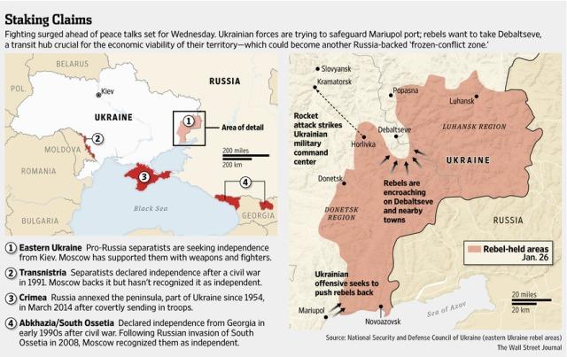 Debaltseve beginning Jan 26 2014