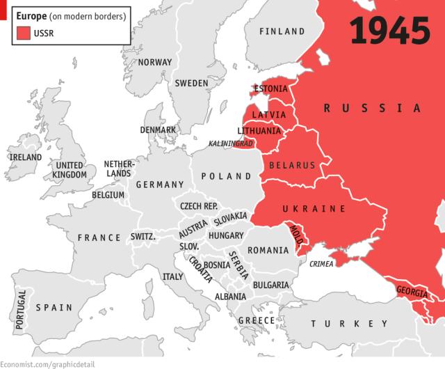 History USSR 1945