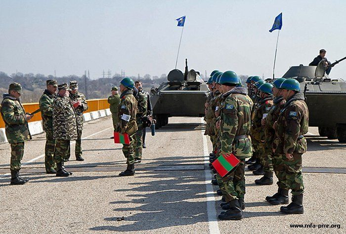 Russian peacekeepers in transnistria