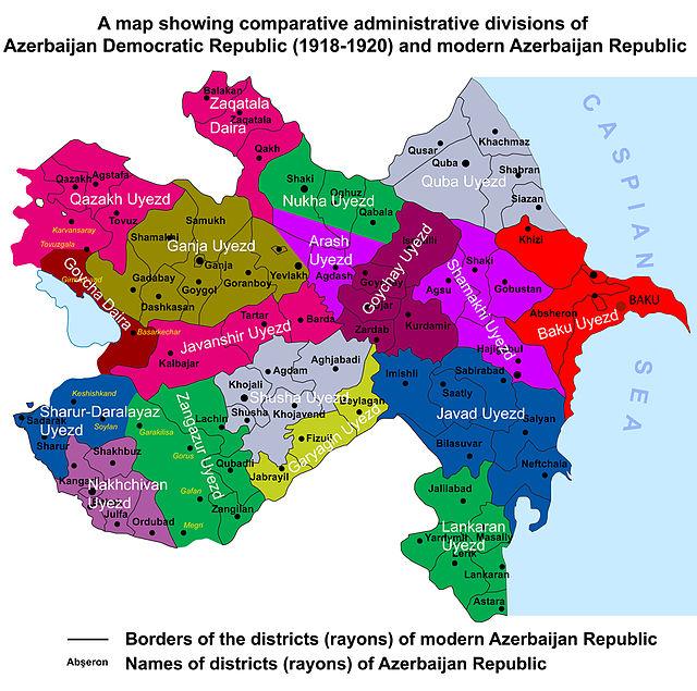 South Caucasus maps Eurasian Geopolitics