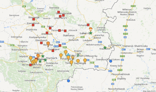 Donbas Conflict Zone - Aug 5 2014