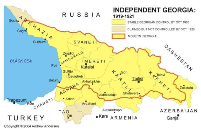 RUS-Georgia-Rep-Map