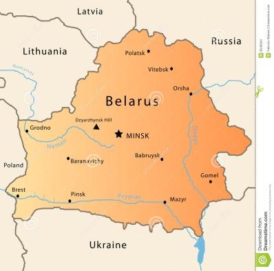 Image result for belarus map