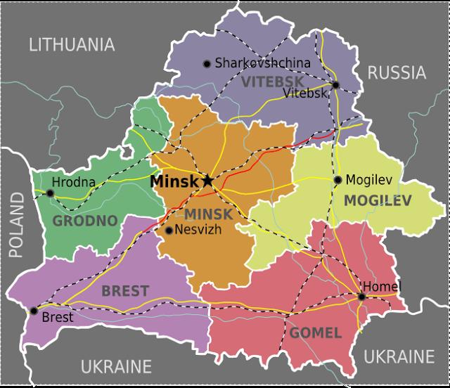 Map Of Belarus Belarus maps | Eurasian Geopolitics