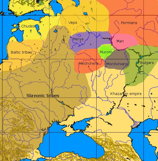 900 Finno-Volgaic 9th century