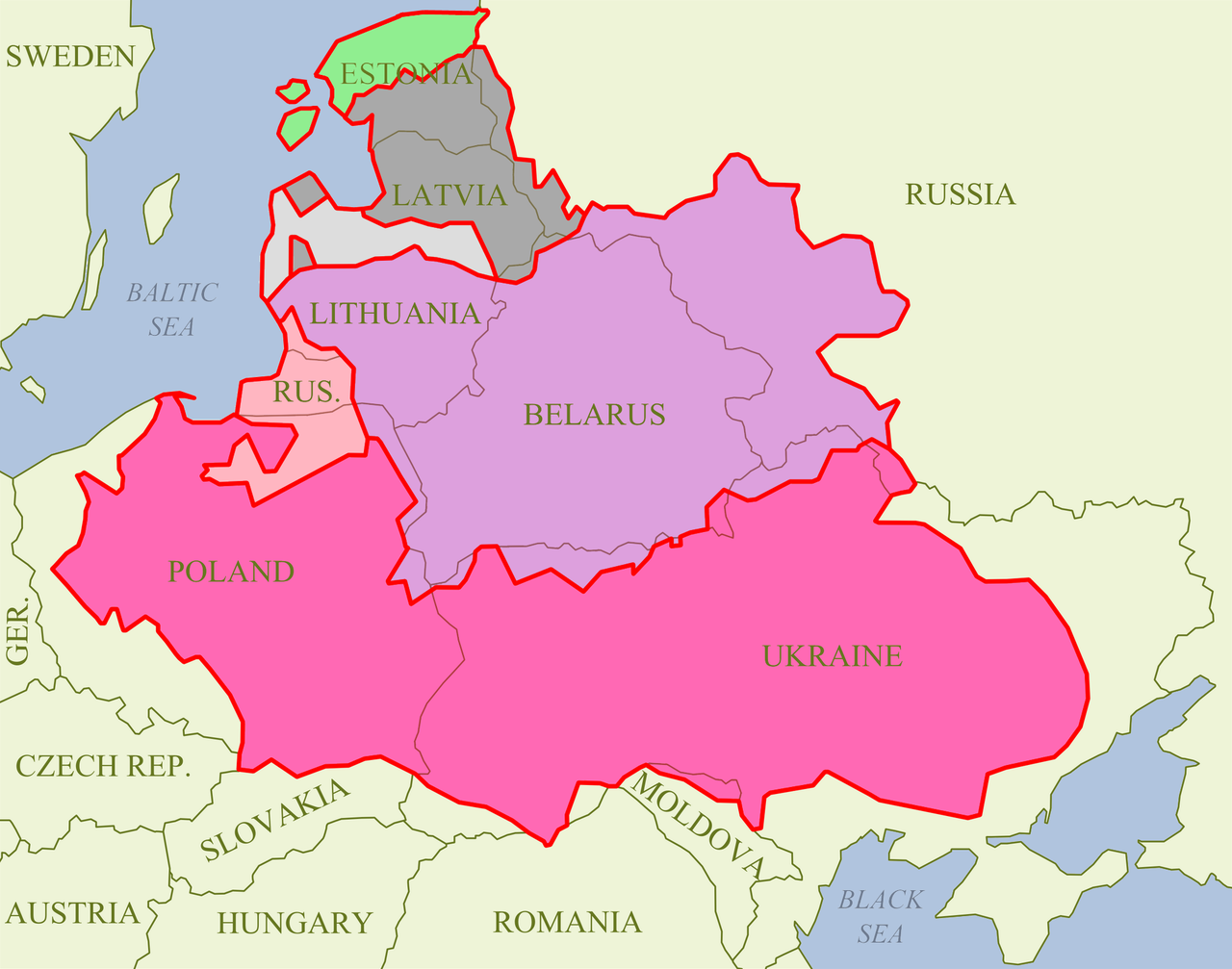 Baltic maps | Eurasian Geopolitics