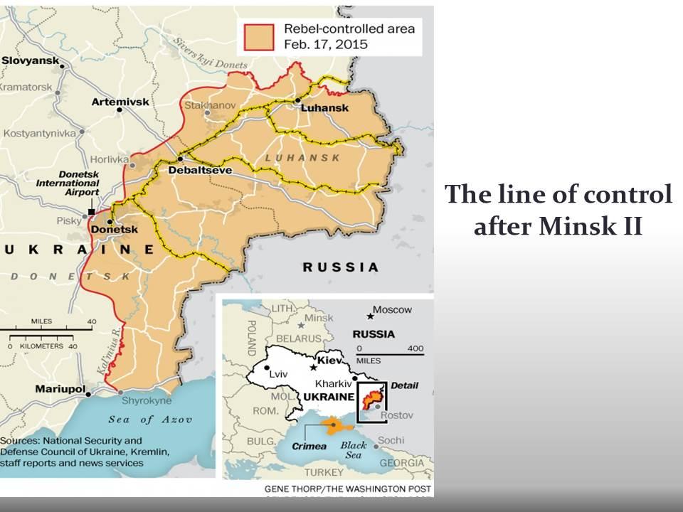 Why the Ukraine crisis is still very dangerous long version – Map Ukraine Fighting