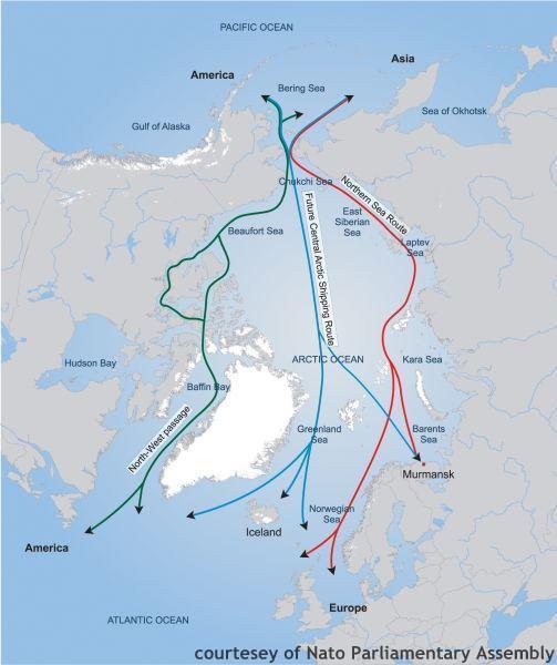 Arctic routes 1