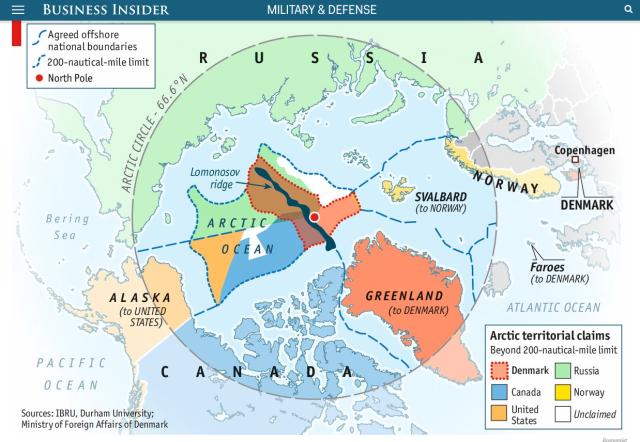 Arctic territorial claims 2