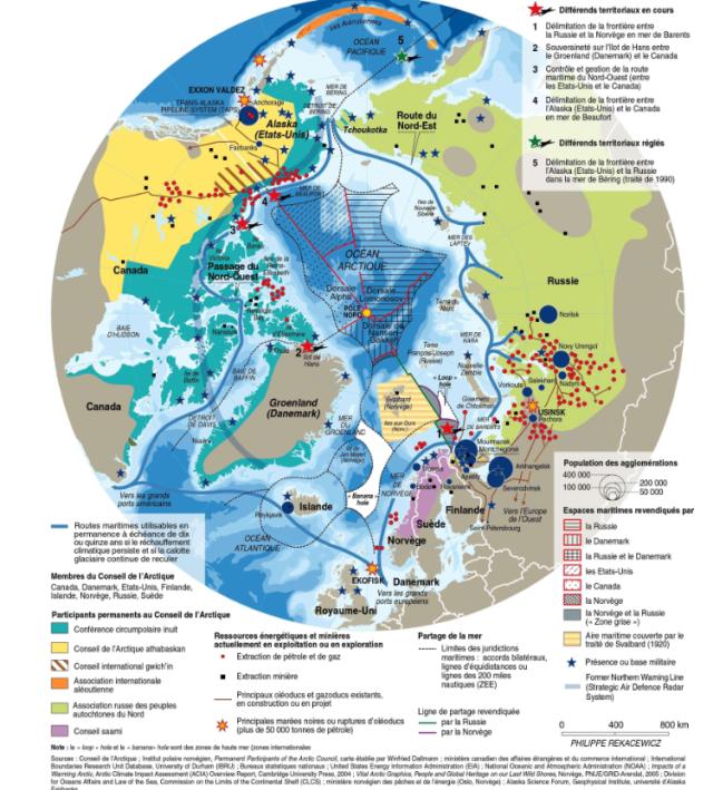 Arctic territorial claims 4