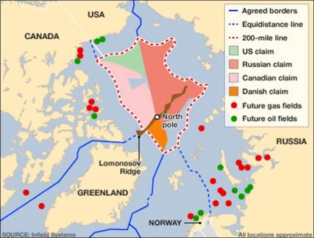 Arctic territorial new