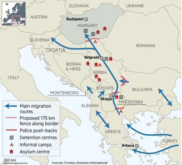 Migration Routes Financial Times Eurasian Geopolitics