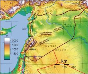 Syria-Topographic-Map